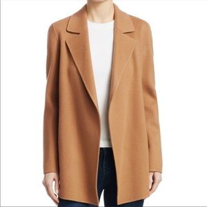 NWT Theory Sileena Copper Wool Cashmere Jacket L